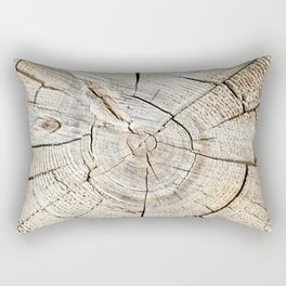 Wood Cut Rectangular Pillow