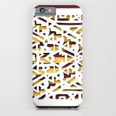 Aztec Pattern Papercut iPhone 6s Slim Case