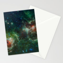 Hubble Space Photograph - Heart and Soul Nebulae Stationery Cards