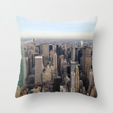 New York I love you Throw Pillow