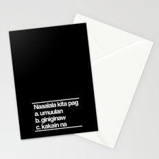 Naaalala Kita Stationery Cards