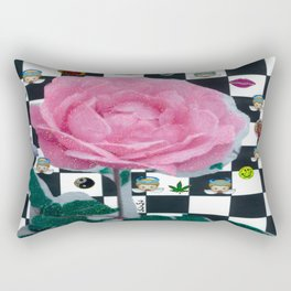 MY ROSE IS KAWAII Rectangular Pillow