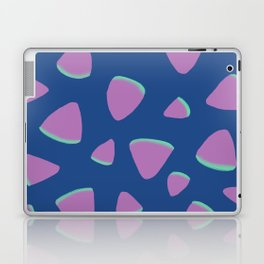 Abstract Graphic Pattern | Blue | Pink | Green Laptop & iPad Skin
