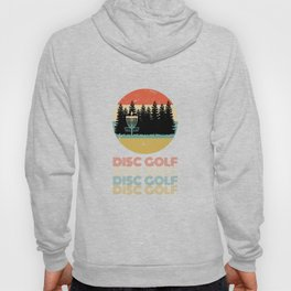 Disc Golf Discgolf Vintage Design Hoody