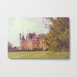 Country Manor House Metal Print