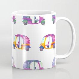 Funky rickshaws pattern Coffee Mug