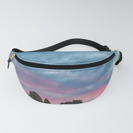 Pastel Rainbow Sunset : Tronna Pinnacles Fanny Pack