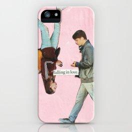 falling in love iPhone Case