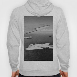 B-17F Flying Fortress Bombers over the Southwest Pacific Hoody