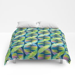 Unicorn DNA / Dark Blue Comforters