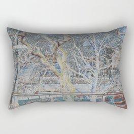 On the Thames River London Rectangular Pillow