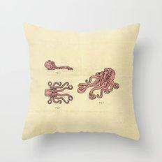 Lego Octopus Throw Pillow
