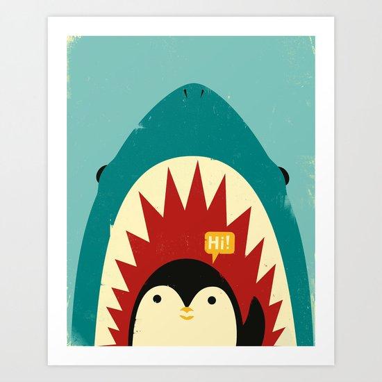 Hi! Art Print
