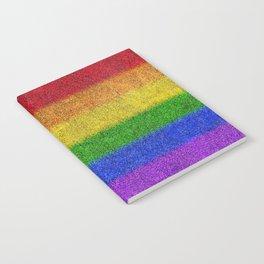 Rainbow Glitter Gradient Notebook