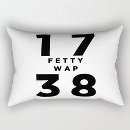 1738 Fetty Wap Rectangular Pillow