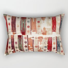 Karapinar  Antique Turkish Konya Kilim Rectangular Pillow