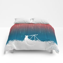 Meteor Rain (light version) Comforters