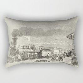 Union Pacific Train  Rectangular Pillow