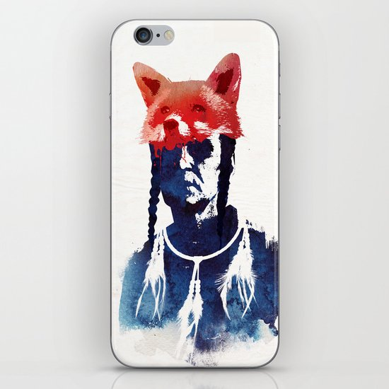 Bloody days are coming iPhone & iPod Skin