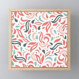 Coral Fest Framed Mini Art Print
