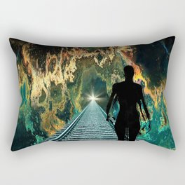 A Journey To A Star Rectangular Pillow