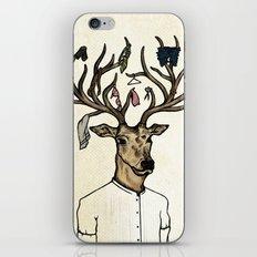 Evicted deer iPhone & iPod Skin