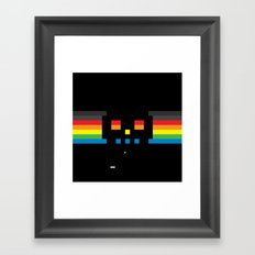 Superbreakout Skull Framed Art Print