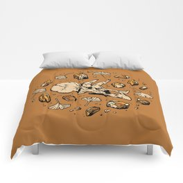 Triceratops Rocks!   Citrine Quartz Comforters