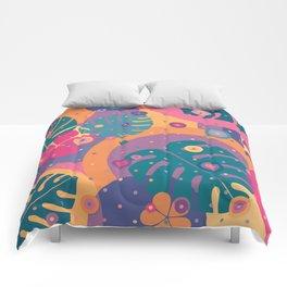 Tropical Dots Comforters