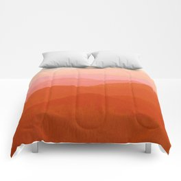 Hunter Mountain Cinnamon Comforters