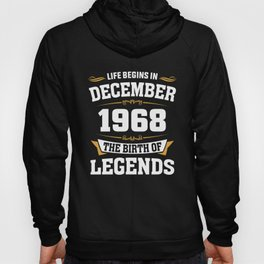 December 1968 50 the birth of Legends Hoody