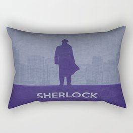 Sherlock 02 Rectangular Pillow