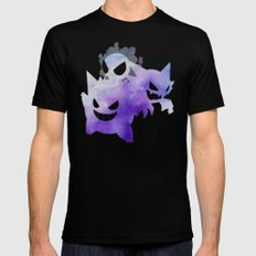 Ghosts Black Mens Fitted Tee X-LARGE