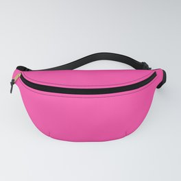 From The Crayon Box – Cerise - Bright Pink Purple Solid Color Fanny Pack