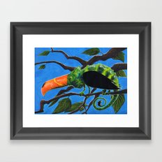 Tukameleon Framed Art Print