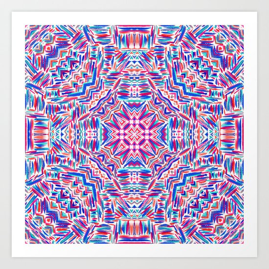 Carnivale 2 Art Print