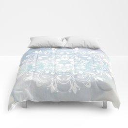 pastel lace design Comforters