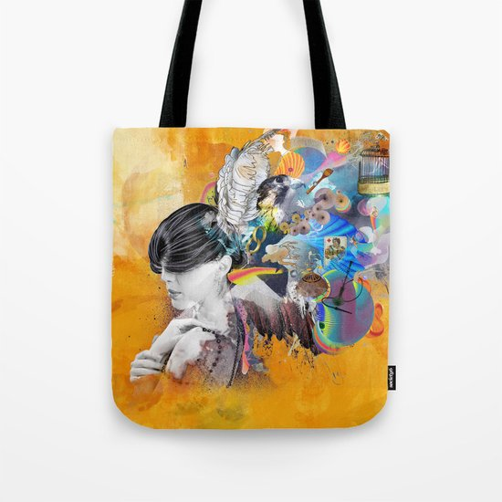 Floating Mind Tote Bag