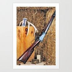 Winchester Rifle Art Print