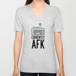 Currently AFK Unisex V-Neck