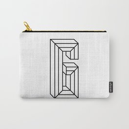 Letter G Carry-All Pouch