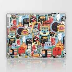 Two monkeys in town Laptop & iPad Skin
