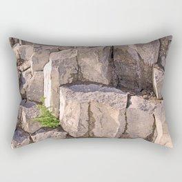 LITTLE LONE TREE IN COLUMNAR BASALT FORMATION Rectangular Pillow