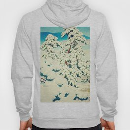 A Morning in the Snow Hoody