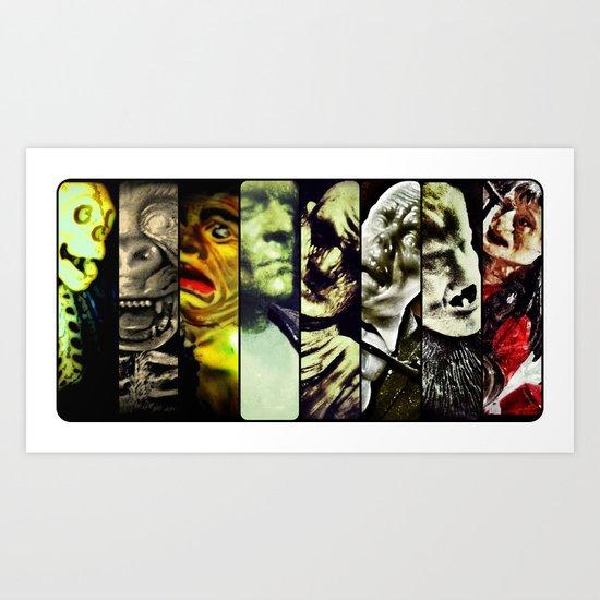 Monster Models 2013 Art Print