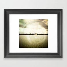 DC is Different  Framed Art Print