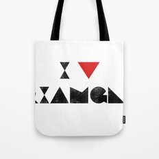 I V TRIANGLES Tote Bag