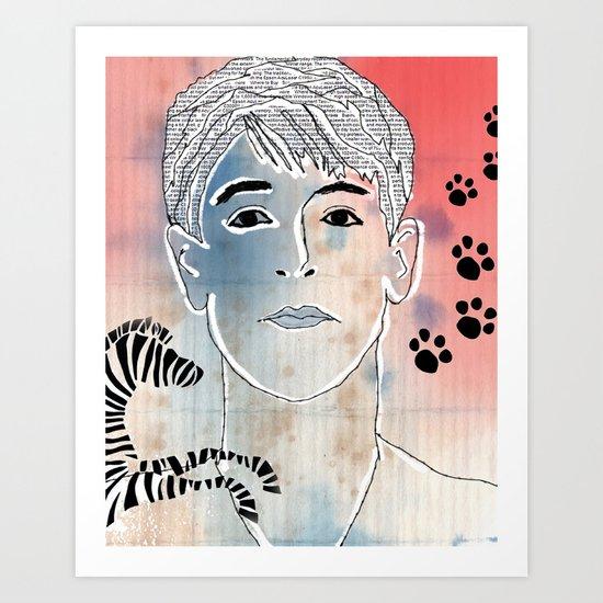 87 Art Print