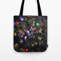 Starry Starry Night Neon (1) Tote Bag