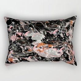 Ink Spread - Enkhorgil Purevdorj  Rectangular Pillow